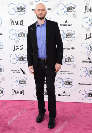 Stock Image of Chris Ohlson arrives at the 30th Film Independent Spirit Awards, in Santa Monica, Calif