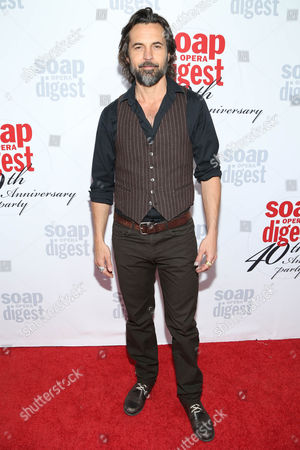 Jeffrey Vincent Parise arrives at the 40th Anniversary of Soap Opera Digest at The Argyle Hollywood, in Los Angeles