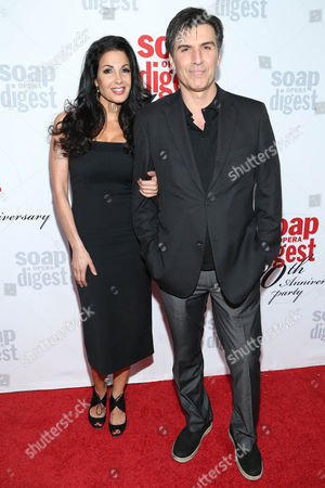 Donna Petracca and Vincent Irizarry arrive at the 40th Anniversary of Soap Opera Digest at The Argyle Hollywood, in Los Angeles