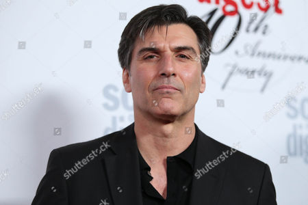 Vincent Irizarry arrives at the 40th Anniversary of Soap Opera Digest at The Argyle Hollywood, in Los Angeles