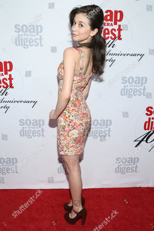Paige Searcy arrives at the 40th Anniversary of Soap Opera Digest at The Argyle Hollywood, in Los Angeles