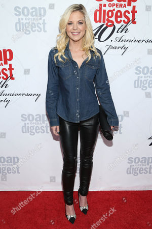 Stock Picture of Kirsten Storms arrives at the 40th Anniversary of Soap Opera Digest at The Argyle Hollywood, in Los Angeles
