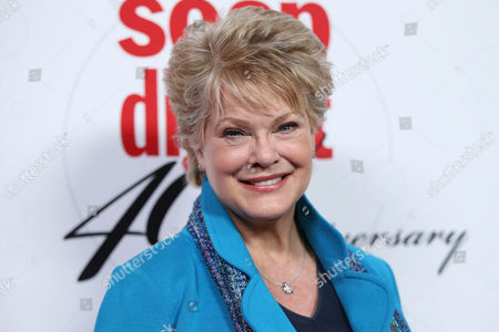 Stock Photo of Gloria Loring arrives at the 40th Anniversary of Soap Opera Digest at The Argyle Hollywood, in Los Angeles