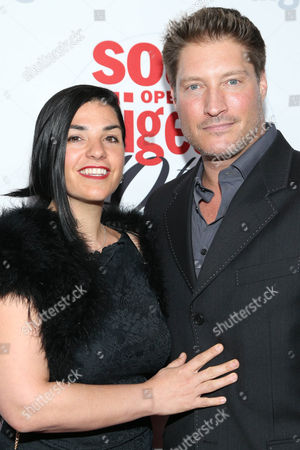 Michele Vega and Sean Kanan arrive at the 40th Anniversary of Soap Opera Digest at The Argyle Hollywood, in Los Angeles