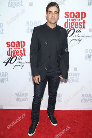 Galen Gering arrives at the 40th Anniversary of Soap Opera Digest at The Argyle Hollywood, in Los Angeles