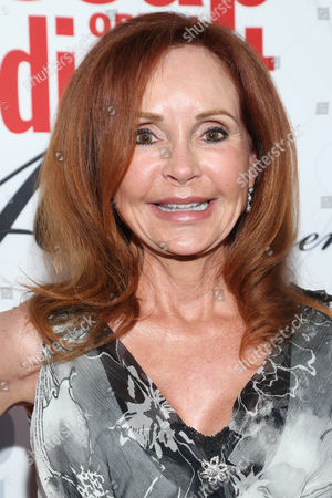 Jacklyn Zeman arrives at the 40th Anniversary of Soap Opera Digest at The Argyle Hollywood, in Los Angeles