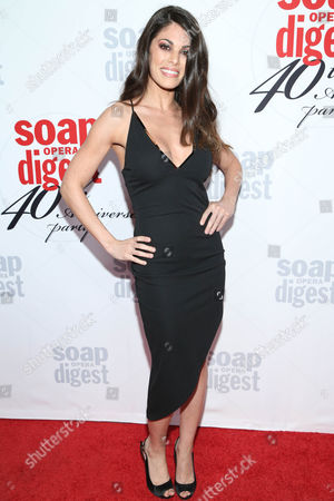 Lindsay Hartley arrives at the 40th Anniversary of Soap Opera Digest at The Argyle Hollywood, in Los Angeles