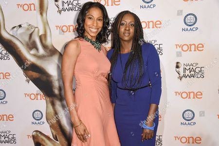 Editorial photo of 46th NAACP Image Awards Nomineesâ?™ Luncheon, Beverly Hills, USA