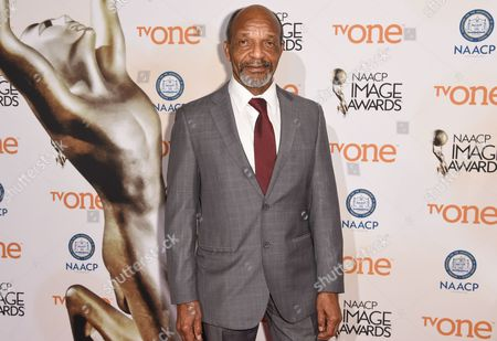 Stock Photo of Henry G. Sanders attends the 46th NAACP Image Awards Nominees' Luncheon at The Beverly Hilton Hotel, in Beverly Hills, Calif