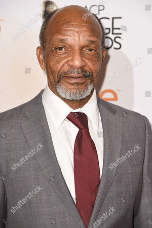 Henry G. Sanders attends the 46th NAACP Image Awards Nominees' Luncheon at The Beverly Hilton Hotel, in Beverly Hills, Calif