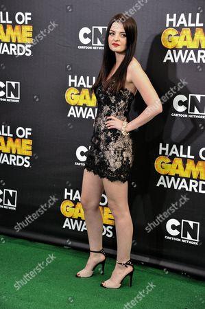 Dakota Hood arrives at the 4th Annual Hall of Game Awards on Saturday, Feb, 15, 2014 in Santa Monica, Calif