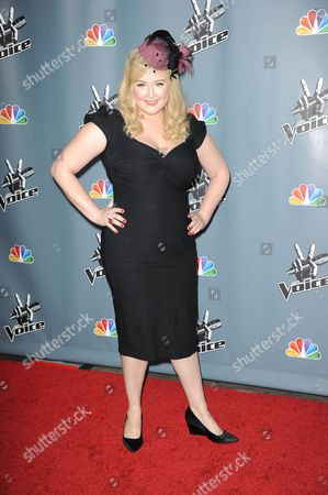 """Katrina Parker at the 4th season premiere screening of """"The Voice"""" at the TCL Theatre on in Los Angeles"""