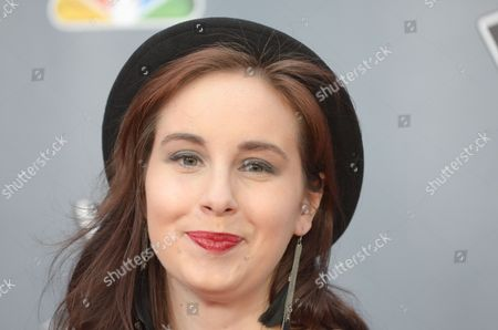 """Lelia Broussard arrives at the 4th season premiere screening of """"The Voice"""" at the TCL Theatre on in Los Angeles"""