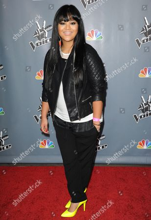 """Stock Picture of Cheesa Laureta at the 4th season premiere screening of """"The Voice"""" at the TCL Theatre on in Los Angeles"""