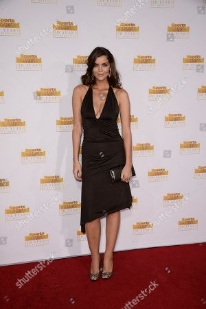 """Model Natasha Barnard arrives at the """"50 Years of Beautiful"""" television event celebrating the Sports Illustrated Swimsuit Issue's 50th Anniversary at the Dolby Theatre on in Los Angeles"""