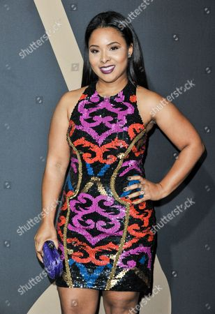 Mechelle Epps arrives at the 5th Annual ESSENCE Black Women in Music Event at 1 OAK, in West Hollywood, Calif