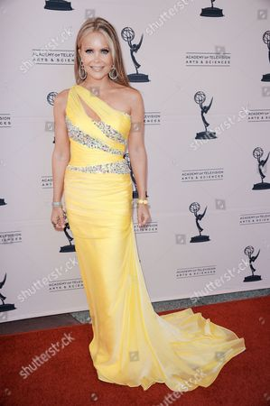 Tamara Henry arrives at the 65th Los Angeles Area Emmy Awards at the Leonard H. Goldenson Theatre on in North Hollywood, Calif