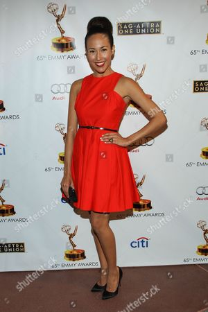 Stock Photo of Actress Marisa Quinn arrives at the 65th Emmy Awards Nomination Celebration at the Academy of Television Arts and Sciences on in North Hollywood, California