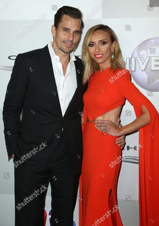 Bill Rancic and Giuliana Rancic arrive at the NBCUniversal Golden Globes afterparty, at the Beverly Hilton Hotel in Beverly Hills, Calif