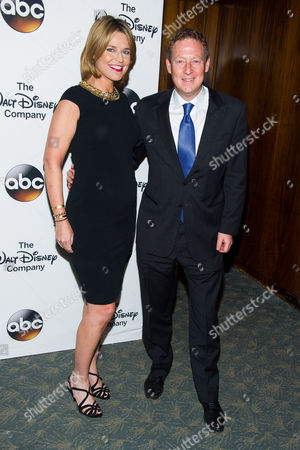 Savannah Guthrie and Michael Feldman attend A Celebration of Barbara Walters at the Four Seasons Restaurant on in New York