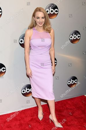 Stock Image of Wendy Anne McLendon-Covey attends the ABC 2016 Network Upfront Presentation at David Geffen Hall, in New York