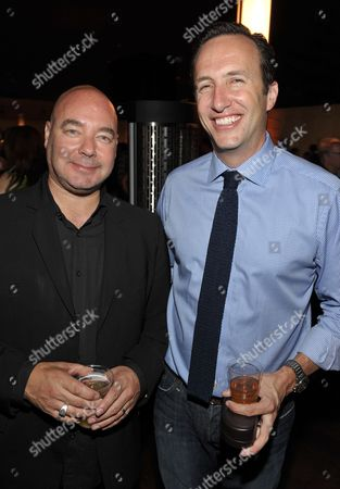 """AMC Head Of Original Programming, Joel Stillerman and MC president Charlie Collier attend AMC's """"Breaking Bad"""" Premiere and After Party on in San Diego, CA"""