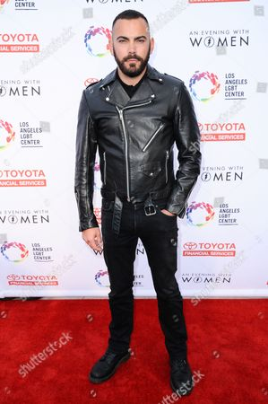 Matthew Risch arrives at An Evening with Women benefiting the Los Angeles LGBT Center held at the Hollywood Palladium, in Los Angeles