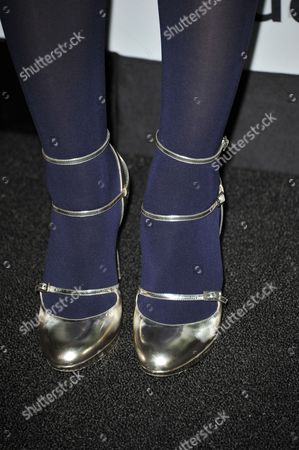 Louise Griffiths (shoe detail) attends the Audi and Derek Lam Emmy Week Kick-Off at Cecconi's, in Los Angeles