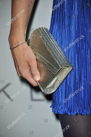 Louise Griffiths (purse detail )attends the Audi and Derek Lam Emmy Week Kick-Off at Cecconi's, in Los Angeles