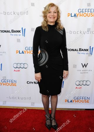 """Mona Golabek arrives at the annual """"Backstage At The Geffen"""" event at the Geffen Playhouse on in Los Angeles"""