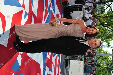 Rebecca Atkinson arrives at the BAFTA TV Awards, in London