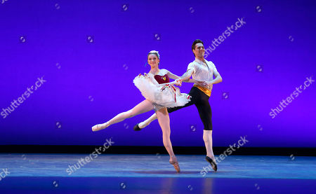 Gonzalo Garcia and Megan Fairchild perform onstage at Beyond the Ballet Presented by Bright Future International at the Beacon Theater on Wednesday, May 8th, 2013 in New York