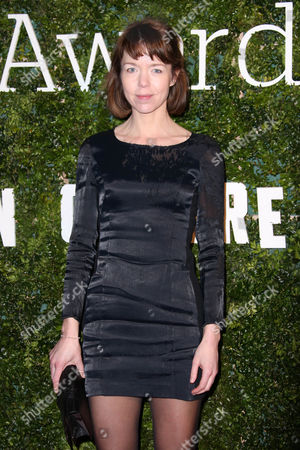 Actress Anna Maxwell Martin poses for photographers upon arrival at the Evening Standard British Film Awards 2016 in London