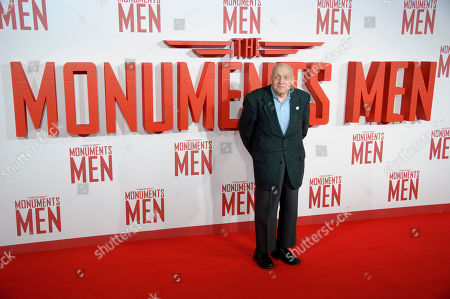 "Harry Ettlinger arrives for the UK Premiere of ""The Monuments Men"" at a central London cinema, London"