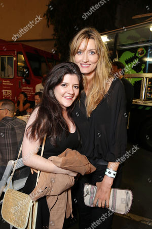 EXCLUSIVE CONTENT - PREMIUM RATES APPLY Madeleine Martin and Natascha McElhone seen at the Californication Season 7 Wrap Party, on Saturday, July, 27, 2013 in Los Angeles