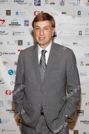 Marv Albert arrives at the Annual Charity Day hosted by Cantor Fitzgerald and BGC Partners, on in New York
