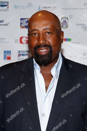Mike Woodson arrives at the Annual Charity Day hosted by Cantor Fitzgerald and BGC Partners, on in New York