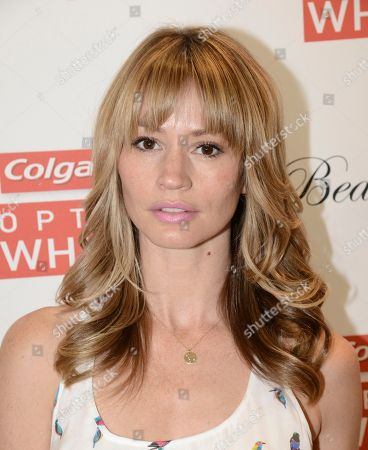 Actress Cameron Richardson at the Colgate Optic White Beauty Bar - Golden Globes Weekend on in Los Angeles
