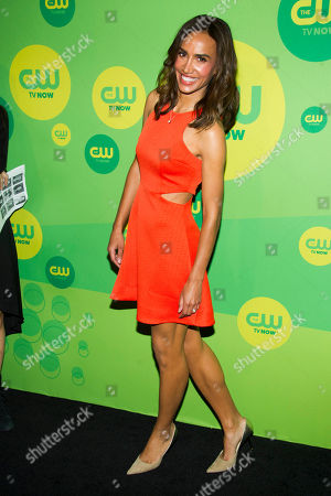 Stock Picture of Nina Lisandrello attends the CW Upfront on in New York
