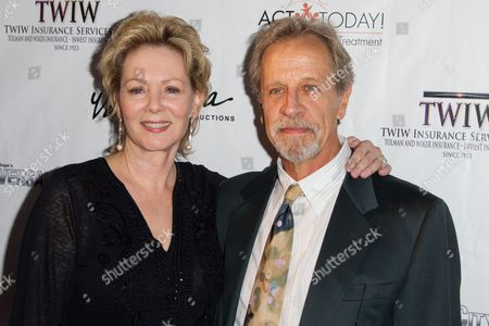 Jean Smart and Richard Gilliland attend the Denim and Diamonds fundraiser at Calamigos Ranch, in Malibu, Calif