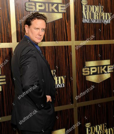"Actor Judge Reinhold poses at ""Eddie Murphy: One Night Only,"" a celebration of Murphy's career at the Saban Theater, in Beverly Hills, Calif"