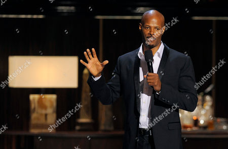 """Comedian Keenan Ivory Wayans performs at """"Eddie Murphy: One Night Only,"""" a celebration of Murphy's career at the Saban Theater, in Beverly Hills, Calif"""