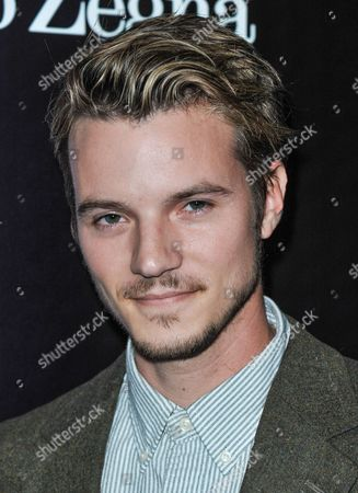 Nathan Keyes arrives at the Ermenegildo Zegna Boutique opening on in Beverly Hills, Calif