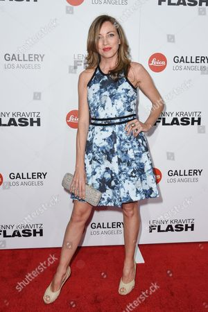 "Sanny van Heteren attends ""Flash by Lenny Kravitz"" Photo Exhibition at Leica Gallery, in West Hollywood, Calif"