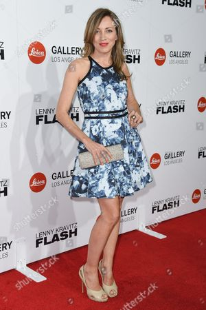 "Stock Picture of Sanny van Heteren attends ""Flash by Lenny Kravitz"" Photo Exhibition at Leica Gallery, in West Hollywood, Calif"