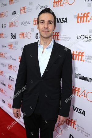 David Ebershoff at Focus Features 'The Danish Girl' Premiere at 2015 Toronto International Film Festival, in Toronto, Canada