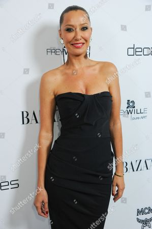 """Sky Nellor arrives at Harper's BAZAAR celebration of the launch of Bravo's new series """"Dukes of Melrose"""" at The Terrace at Sunset Tower on in Los Angeles"""