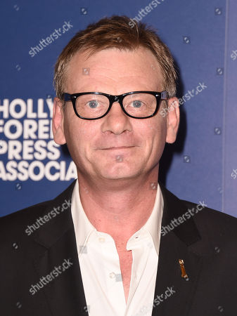 HFPA President Theo Kingma arrives at the Hollywood Foreign Press Association's Grants Banquet at the Beverly Hilton hotel, in Beverly Hills, Calif