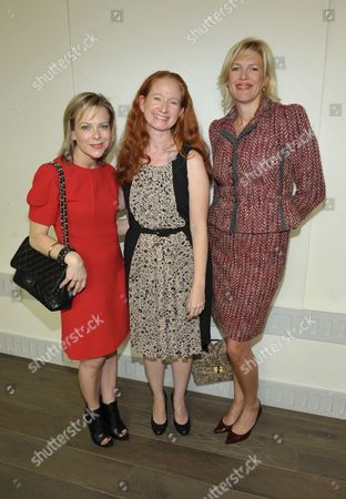 From left, Carol McColgin, Shanti Marlar, and Dottie Mattison attend The Hollywood Reporter: THR Power of Style Luncheon, in Beverly Hills, Calif