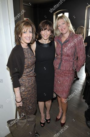 From left, Anne Sweeney, Orly Adelson, and Dottie Mattison attend The Hollywood Reporter: THR Power of Style Luncheon, in Beverly Hills, Calif
